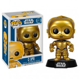 Figura FUNKO POP! Vinyl Bobble Head C-3PO Star Wars