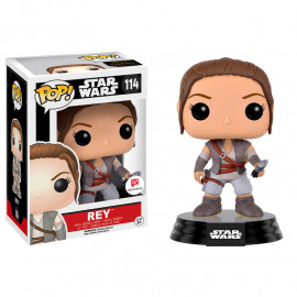 Figura FUNKO POP! Bobble Star Wars E7 Rey Final Scene Outfit Limited