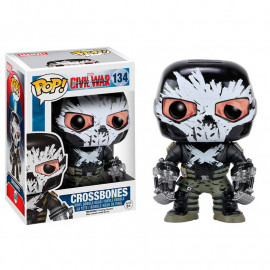 Figura POP Vinyl Bobble Head Capitan America Civil War Crossbones