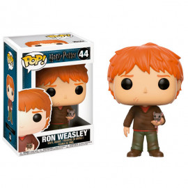 Figura FUNKO POP! Vinyl Harry Potter: Ron Weasley with Scabbers