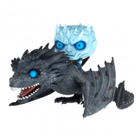 Figura FUNKO POP! Vinyl Game of Thrones: Night King on Dragon (15cm)
