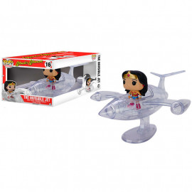 Figura FUNKO POP! Vinyl DC Wonder Woman & Avión invisible 18 cm