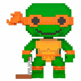 Figura FUNKO POP! Vinyl 8-Bit TMNT Teenage Mutant Ninja Turtles: Michelangelo
