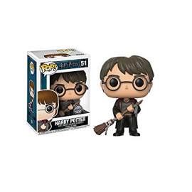 Figura FUNKO POP! Vinyl Harry Potter: Harry con Saeta de Fuego