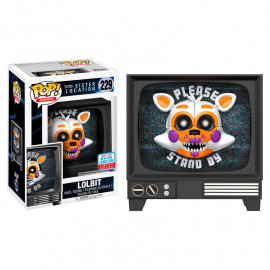 Fiugra FUNKO POP! Vinyl Five Night at Freddy's Sister Location: Lolbit NYCC17 Exclusive