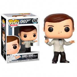 Figura FUNKO POP! Vinyl 007: James Bond Roger Moore white Tux Exclusive