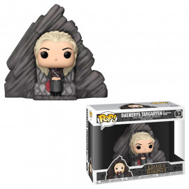Figura FUNKO POP! Vinyl Game of Thrones: Daenerys on Dragonstone Throne