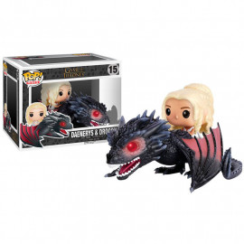 Figura FUNKO POP! Vinyl Games of Thrones: Daenerys on Dragon