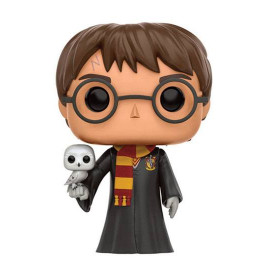 Figura FUNKO POP! Vinyl Harry Potter: Harry with Hedwig