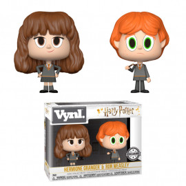 Pack de 2 Figuras FUNKO VYNL Harry Potter: Hermione & Ron Broken Wand Ex.