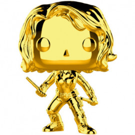 Figura FUNKO POP! Vinyl MARVEL Studios 10: Black Widow Gold Chrome