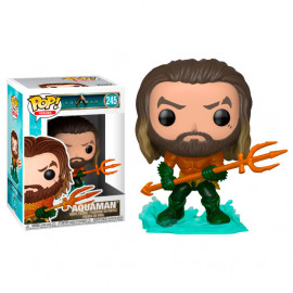 Figura FUNKO POP! Vinyl DC Aquaman: Arthur Curry in Hero Suit