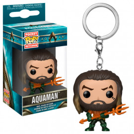 Llavero FUNKO POP! Pocket DC Aquaman: Athur Curry in Hero Suit