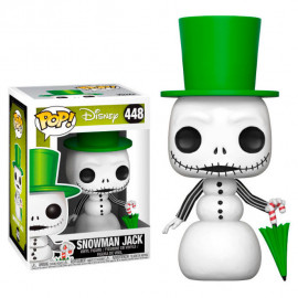 Figura FUNKO POP! Vinyl Disney Nightmare Before Christmas: Snowman Jack