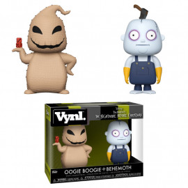Pack de 2 Figuras FUNKO VYNL DIsney Nightmare Before Christmas: Oogie Boogie & Behemoth