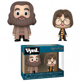 Pack de 2 Figuras FUNKO VYNL Harry Potter: Harry & Hagrid
