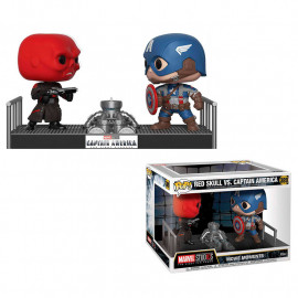 Figura FUNKO POP! Vinyl Movie Moment MARVEL: Captain America vs. Red Skull