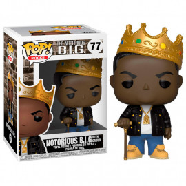 Figura FUNKO POP! Vinyl Rocks: Notorious B.I.G. with Crown