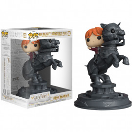 Figura FUNKO POP! Vinyl Harry Potter: Ron Riding Chess Piece