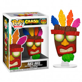 Figura FUNKO POP! Vinyl Crash Bandicoot: Aku Aku