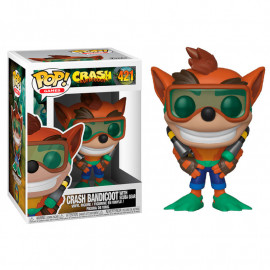 Figura FUNKO POP! Vinyl Crash Bandicoot: Crash Bandicoot w/ Scuba