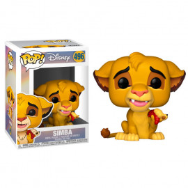 Figura FUNKO POP! Vinyl Disney The Lion King: Simba w/ Worm