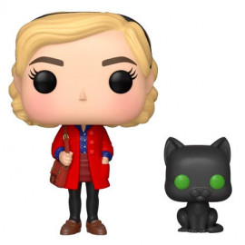Figura FUNKO POP! Vinyl Las Chilling Adventures of Sabrina: Sabrina w/ Salem