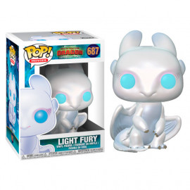 Figura FUNKO POP! Vinyl How to Train your Dragon 3: Light Fury