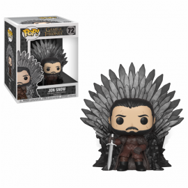 Figura FUNKO POP! Vinyl Game of Thrones: Jon Snow Sitting on Throne