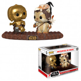 Figura FUNKO POP! Vinyl Star Wars: C3-PO on Throne