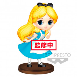 Figura  Q Posket Alice in Wonderland Disney 7cm