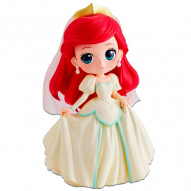 Figura Q Posket Disney La Sirenita: Ariel Wedding Dress (14 cm)