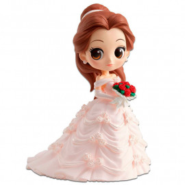Figura Q Posket Disney La Bella y la Bestia: Bella Wedding Dress (14 cm)