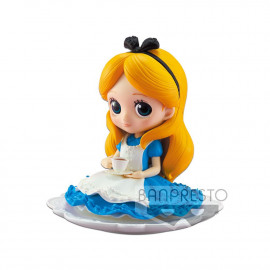 Figura Q Posket Disney Alice in Wonderland: Sugirly Alice (9 cm)