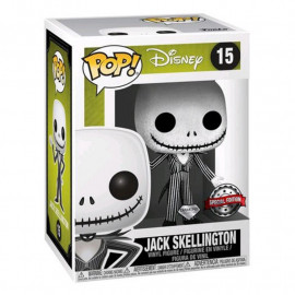 Figura FUNKO POP! Vinyl Disney Nightmare Before Christmas: Jack Diamond Ex.