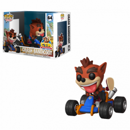 Figura FUNKO POP! Vinyl Crash Team Racing: Crash Bandicoot