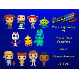 ¡Pack Disney: Toy Story 4!