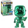 Figura FUNKO POP! Vinyl MARVEL Avengers Infinity War: Thanos Green Chrome Ex.