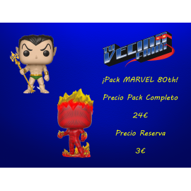 ¡Pack MARVEL 80th!