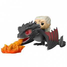 Figura FUNKO POP! Vinyl Game of Thrones: Daenerys on Fiery Drogon