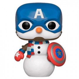 Figura FUNKO POP! Vinyl MARVEL Holiday: Captain America Snowman