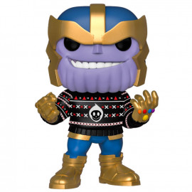 Figura FUNKO POP! Vinyl MARVEL Holiday: Thanos w/ Ugly Sweater