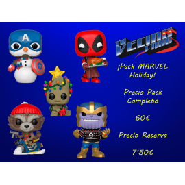 ¡Pack MARVEL Holiday!