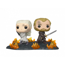 Figura FUNKO POP! Vinyl Game of Thrones: Daenerys & Jorah B2B w/ Swords