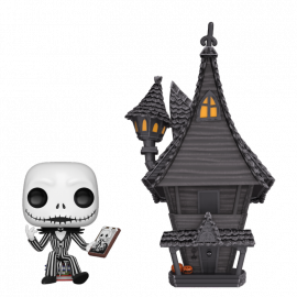 Figura FUNKO POP! Vinyl Disney Nigthmare Before Christmas: Jack & Jack's House