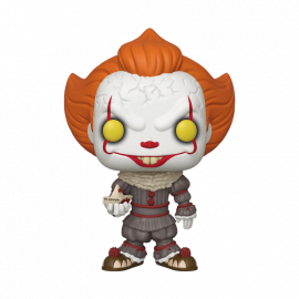 Figura FUNKO POP! Vinyl IT Chapter 2: Pennywise w/ Boat 10""