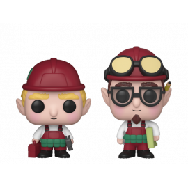 Pack de 2 Figuras FUNKO POP! Vinyl Holiday Town: Randy & Rob