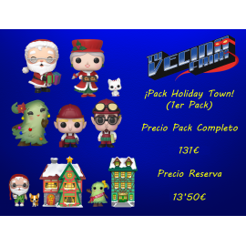 ¡Pack Holiday Town! (1er Pack)