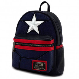Mochila Loungefly MARVEL: Captain America (27cm)