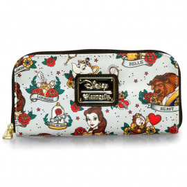 Cartera Loungefly Disney: The Beauty and the Beast (Tattoo)